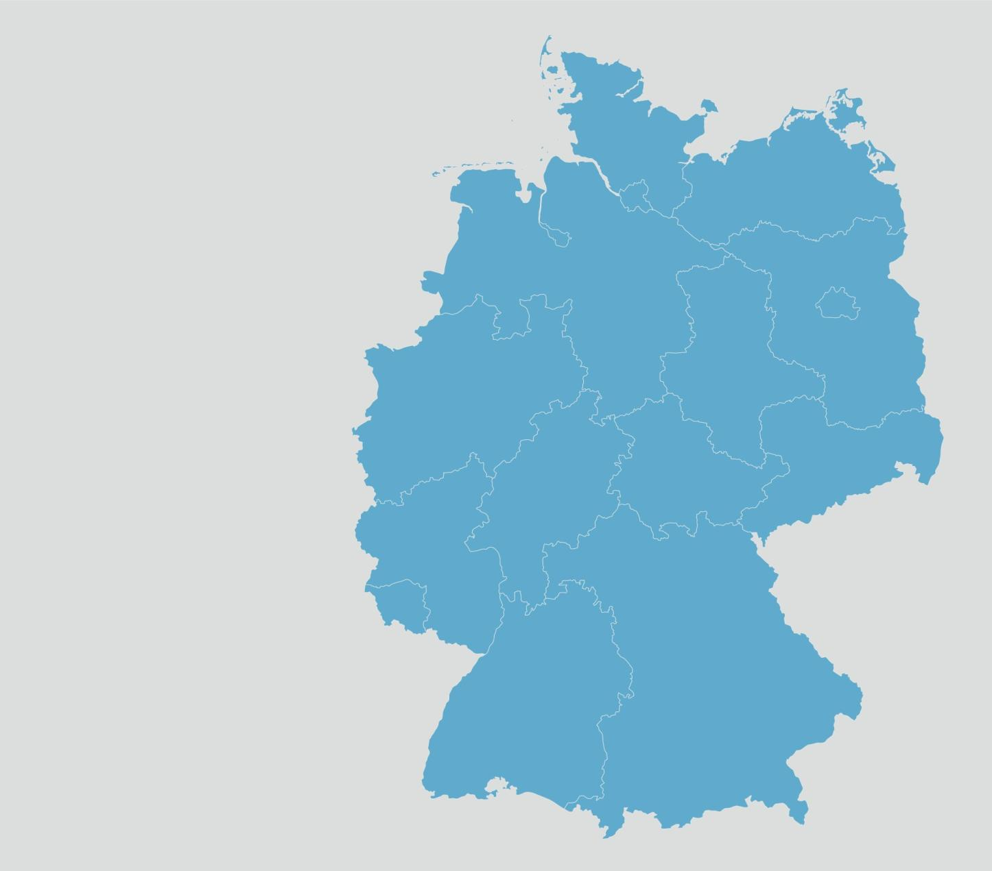 Description of the transportation telematic infrastructure in Germany Clustering of different stages of