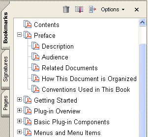 9 Working with Bookmarks This chapter explains how to use the Acrobat core API to create new bookmarks and search for existing ones.