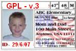3 Family: Free/OSS license Gender: Copyleft Born: July 2007 Nationality: American Parents : Free Software Foundation Pregnancy: 18 months Legacy: 10.