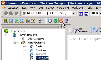 Using the HP Vertica Plug-in with Informatica PowerCenter 9. Save your work. Next, you create a workflow that uses your mapping.