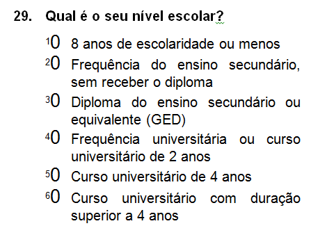 "HCAHPS Mail Survey (Portuguese) Cont. The word ""facility"" has been removed from the third response choice for Question 18 in the box-type HCAHPS Mail Survey (Portuguese)."