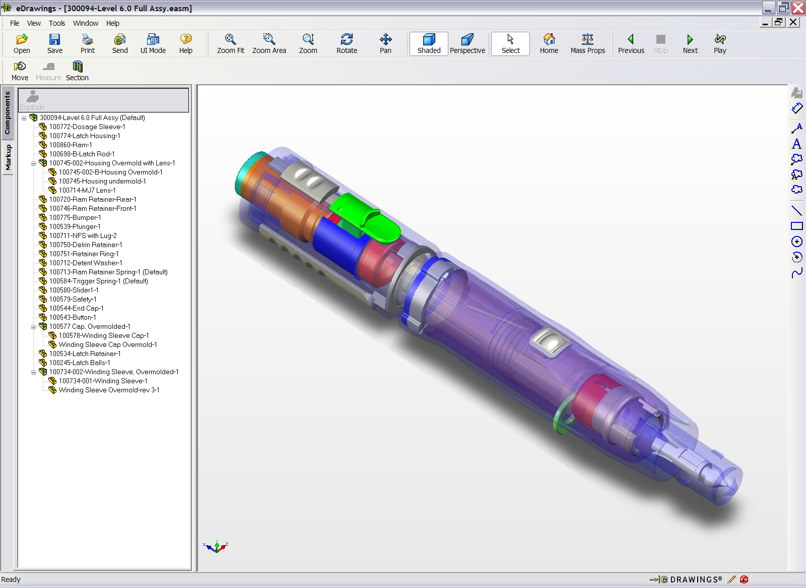 The SOLIDWORKS edrawings collaboration and viewing tool allows you to further streamline the product definition process by improving communication with managers, marketers, customers, and vendors via