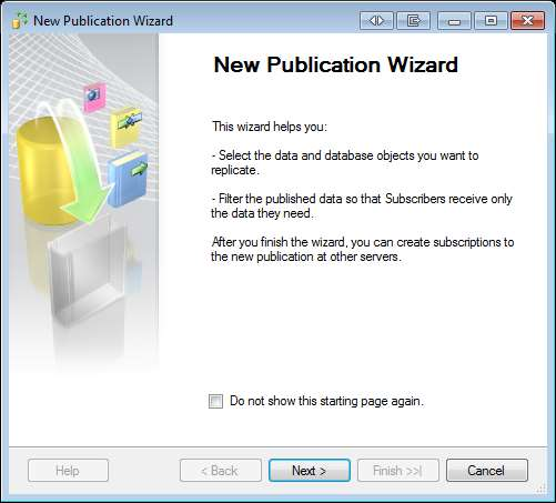 12 Creating the Publisher The following steps need to be followed while creating the publisher. 1.