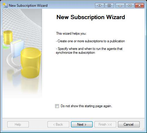 13 Creating the Subscriber Once the publisher is created the next step is to create the subscriber for it. 1.