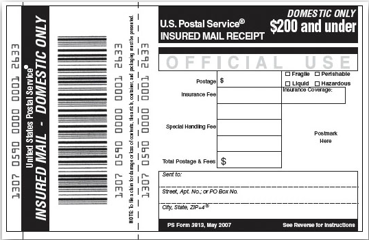 Signature Confirmation is available on Priority Mail, First-Class Mail packages, and Package Services items.