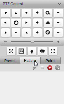 To call a configured preset, double-click the preset, or select the preset and click the icon. To modify a configured preset, select the preset from the list and click the icon.