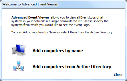 Database Engine Settings Advanced Event Viewer allows you to Use Advanced Event Viewer integrated database which is a SQLite database automatically created by Advanced Event Viewer or to Use