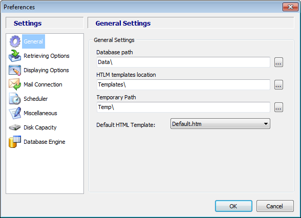 Modify Advanced Event Viewer settings Advance Event Viewer settings can be change anytime. To do that, go to File and select the Preferences option: Preferences panel This is the Preferences panel.