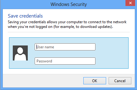 18. Check Specify authentication mode: in the Advanced settings window a.