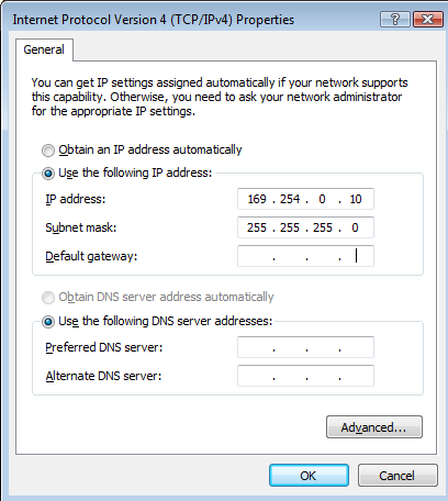 Configure Static IP Addressing A Static IP Addressing scheme is a very reliable way to configure your network.