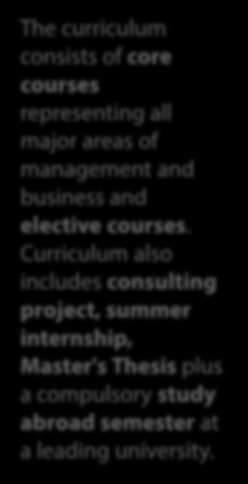 business and elective courses.