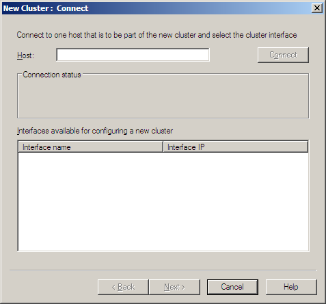 Close Server Manager. A new NLB Cluster can now be configured.