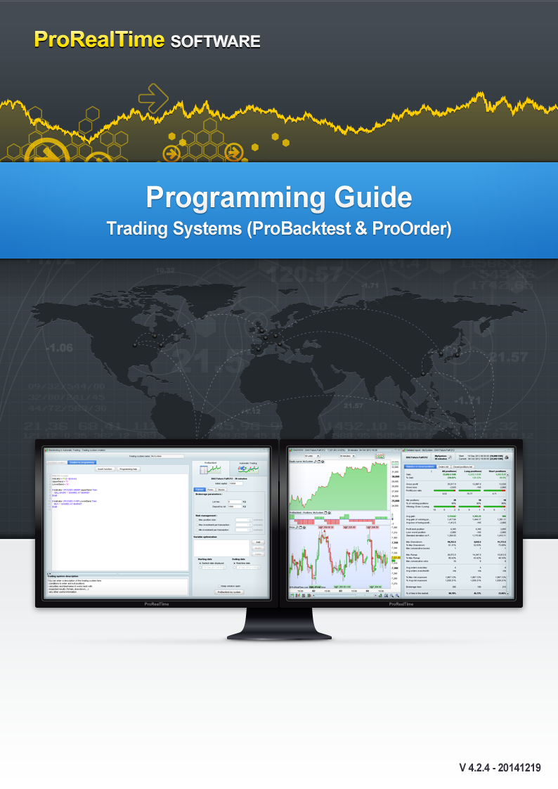 Trading system programming language