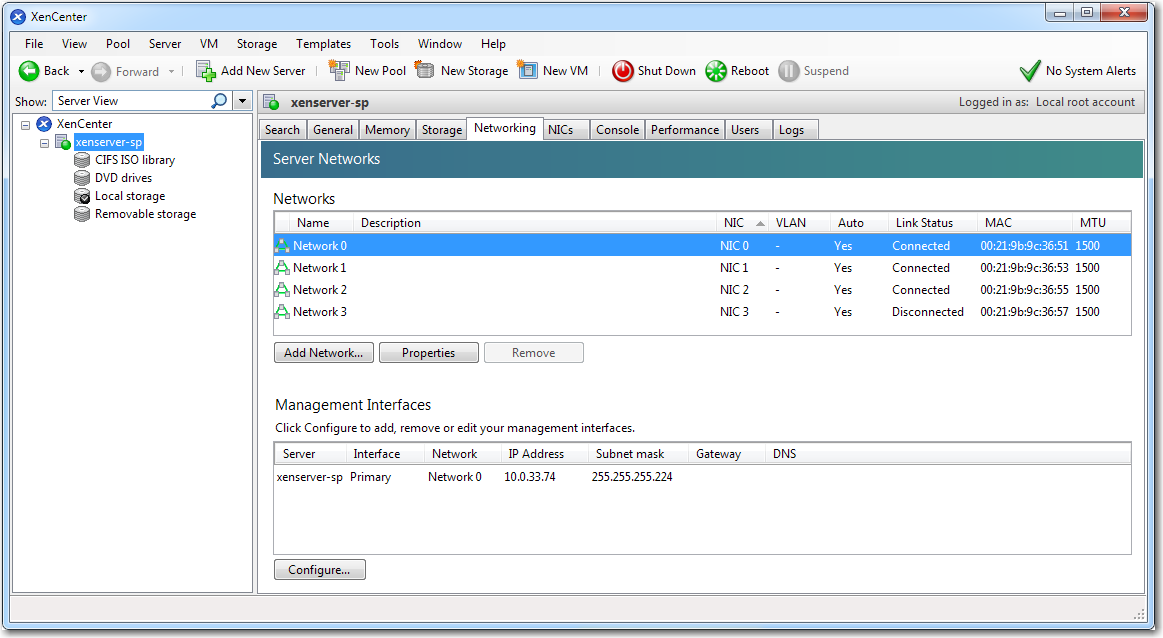 VXOA Virtual Appliance / Citrix XenServer Hypervisor / Server Mode [Single-Interface Deployment] FIRST.