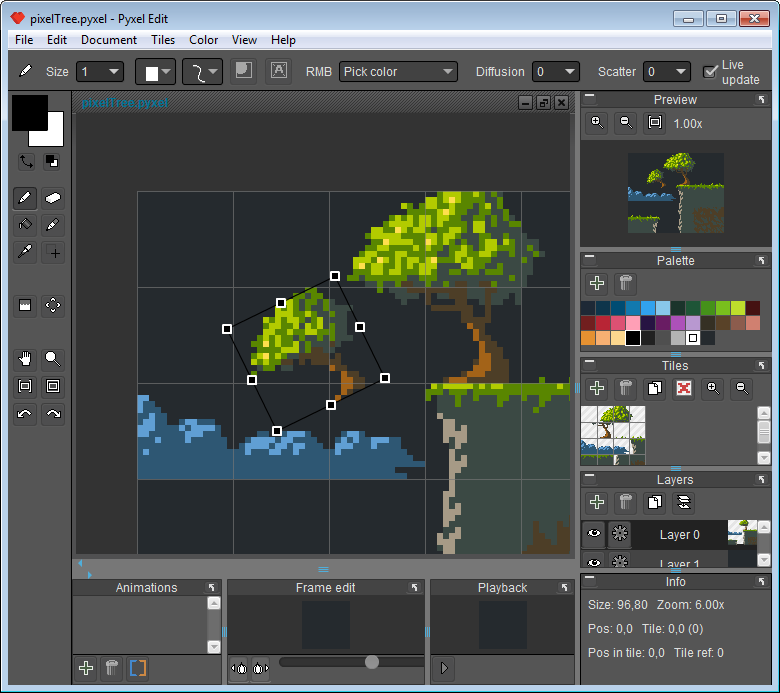 Programs for Tileset work: