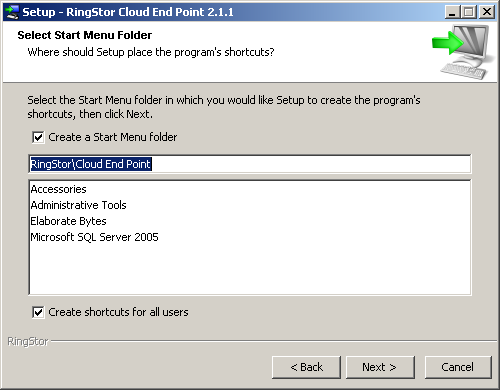 Step 3 Specify Installation Root