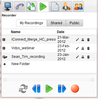 Recorder Record and save meetings.
