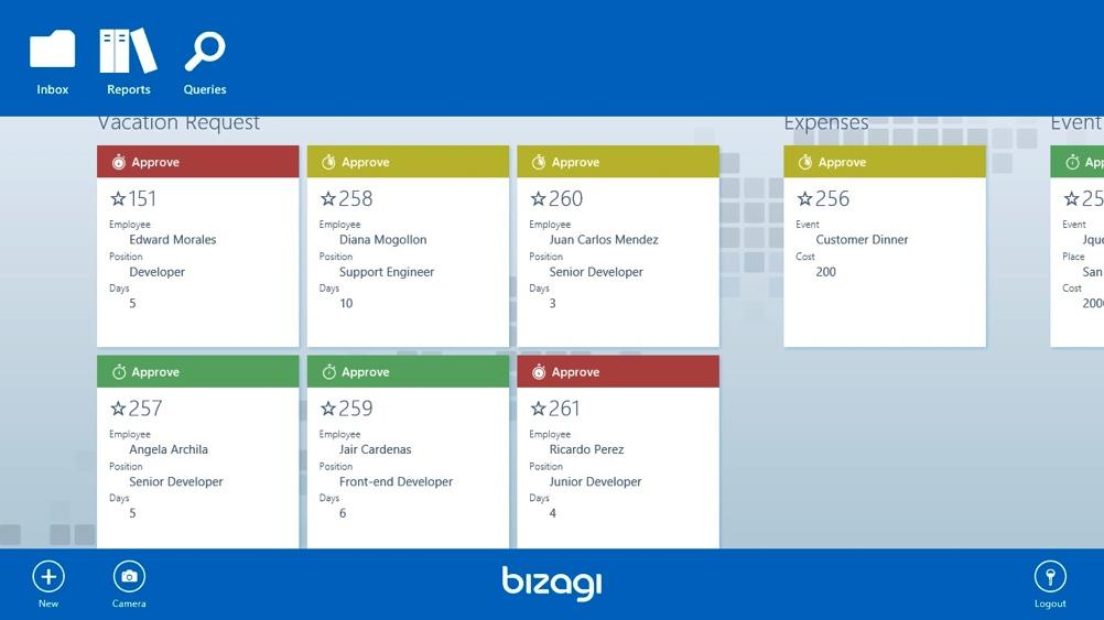Bizagi supports a design once, run anywhere philosophy when you design your forms interface and run this in the Web Portal this will be rendered in an optimal way depending on the device being used.