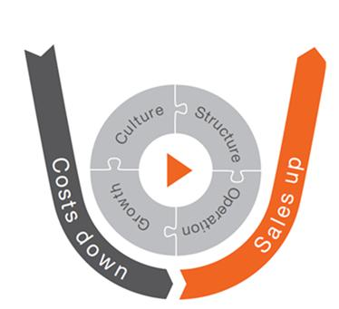 OSRAM Push Wave 1 continues to deliver on plan OSRAM Push: Overall, comprehensive, continuous performance improvement program EBITA Margin: >8% as average over the cycle OSRAM Push Wave 1 execution