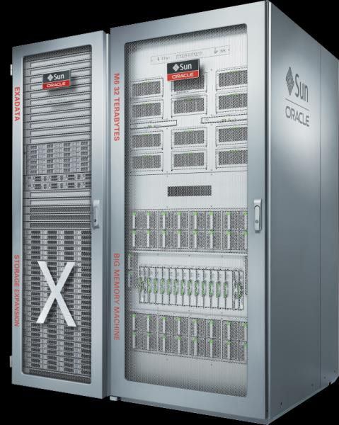Oracle SuperCluster with Exadata X5 Storage & Software Consolidate Applications and Database, Large OLTP, Large In-Memory DB
