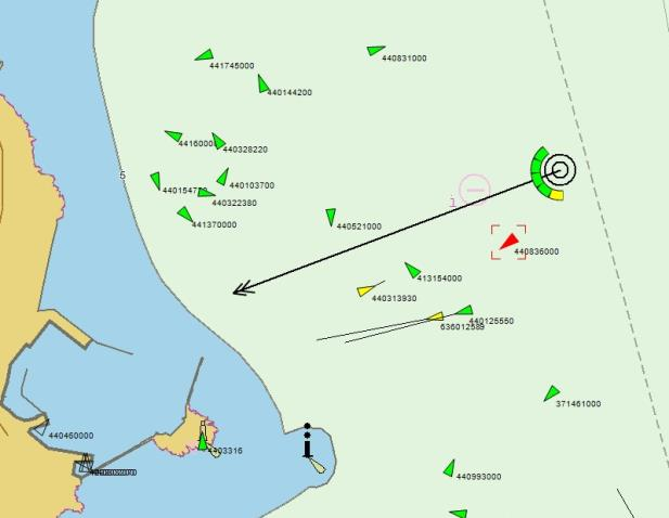Services Collision Avoidance Service Analyze risks of ship collision by fuzzy