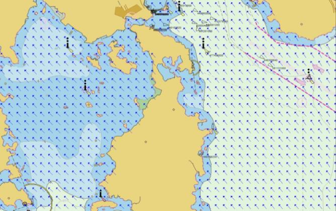 Services Weather Information Service Generate current/wind/tide grid information of