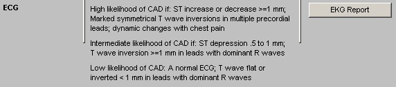 Physical Examination this lists the Physical Findings suggestive of CAD and Signs/cause of secondary unstable