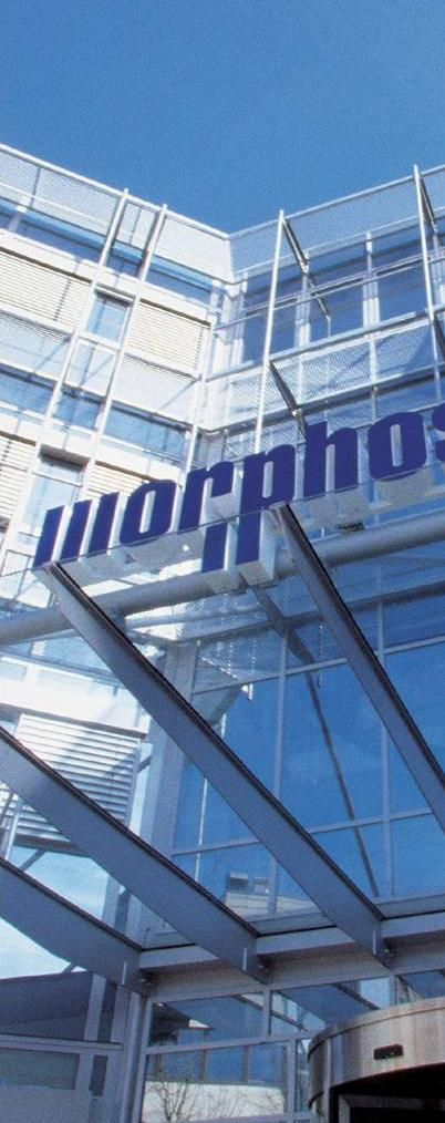 MorphoSys at a Glance Industry s most