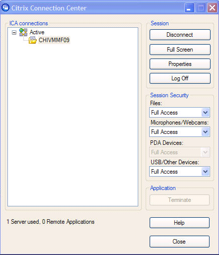 How to Save a File within a Citrix Application to your local C: drive (Desktop): 1.