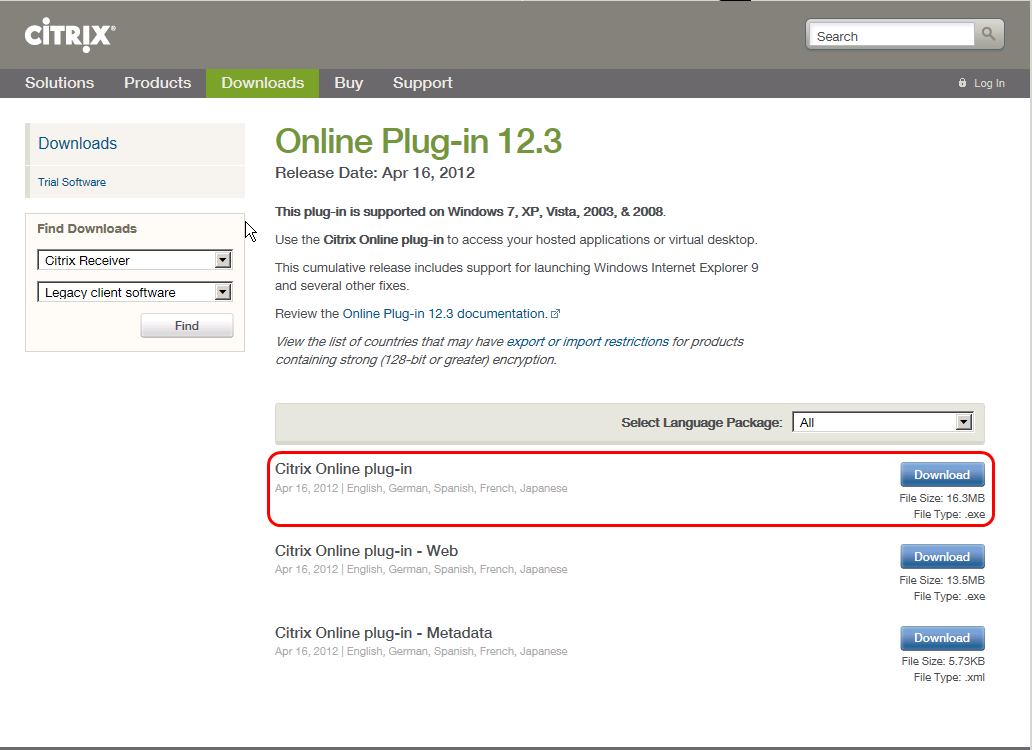 4. Select Online plug-in 12.3. If you can t see correctly this web page, copy/paste the link below in your web browser http://www.