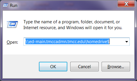 Information Technology R EMOTE NETWORK ACCESS Occasionally, faculty or staff who are away from TMCC may need to access files stored on the administrative file server.