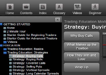 select Education > Trading Education > Strategies.