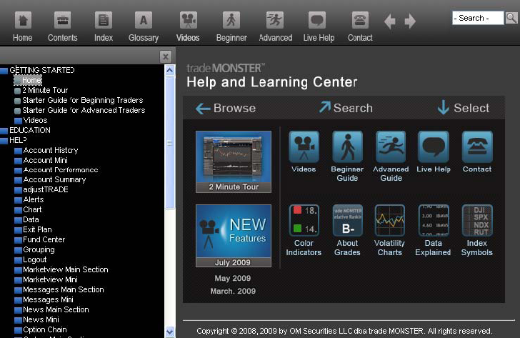 Help Center Access the Help and Learning Center from the question mark icon near the top right of every screen, and also from most action screens.