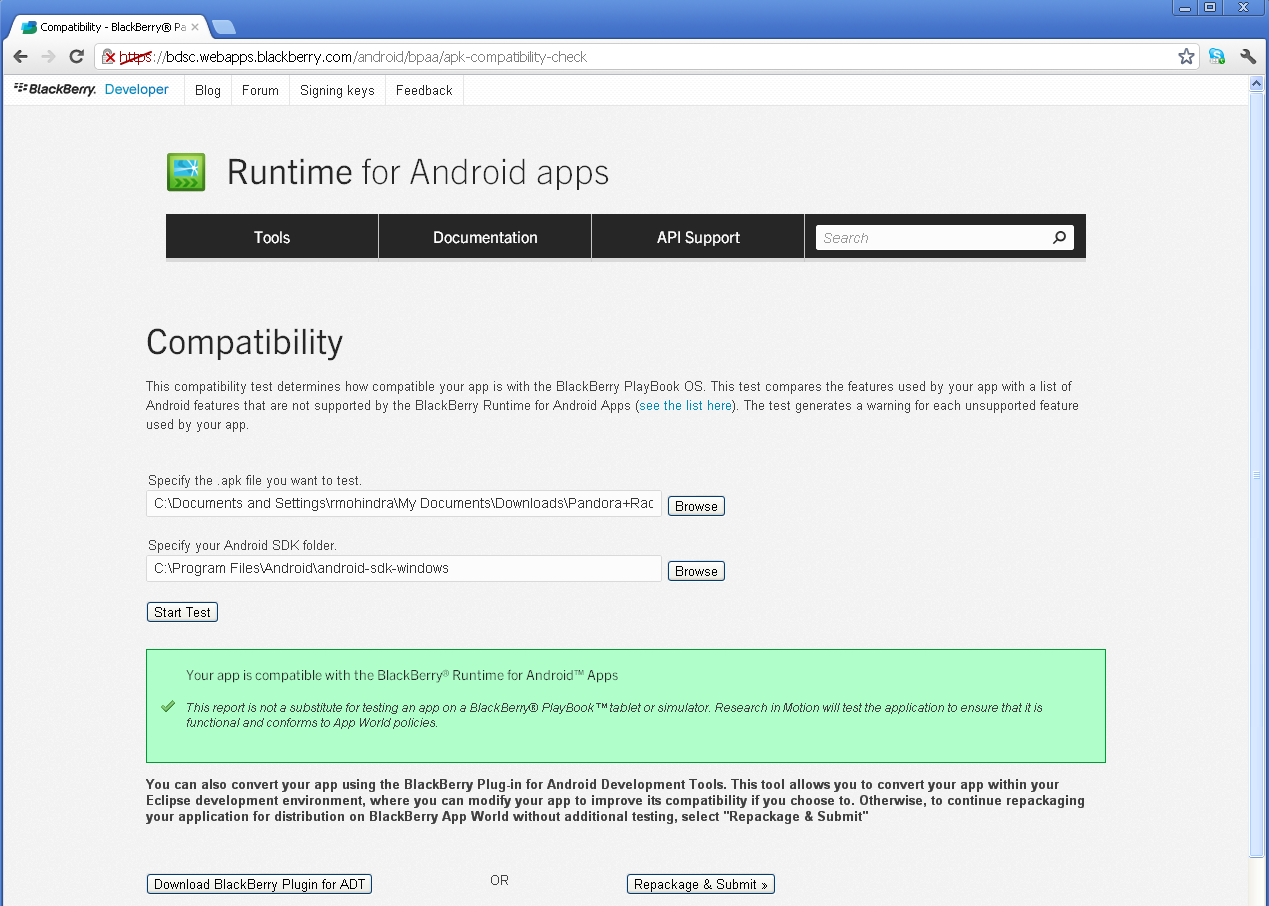 Converting existing Android apps Option 1: