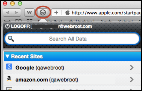 Passwords Logging in to saved sites After you define a site profile with login credentials, the Password Manager can automatically log in to the site from a web browser.