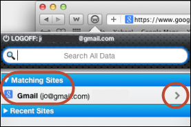Passwords Updating site profiles You can modify site profiles from the web browser's toolbar or from your account in the SecureAnywhere website. To update site profiles: 1.
