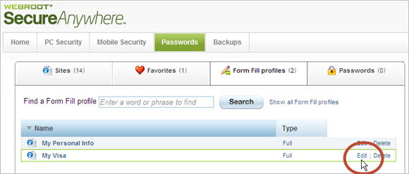 Passwords 2.