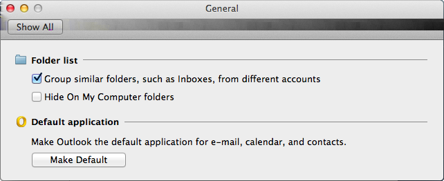 Introducing Symantec Enterprise Vault How grouping similar folders in Outlook 2011 for Mac affects Enterprise Vault Client behavior 11 log in to Enterprise Vault and even if your administrator has