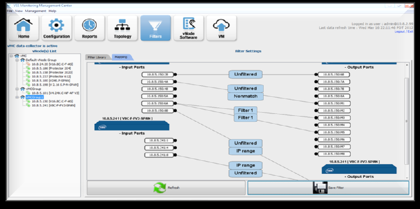 vmc : Manage from -wide Perspective Manage all VSS NPBs Bulk software updates