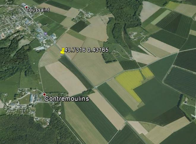 Site Details Site Name Contremoulins Mast Location 49.7316N, 0.