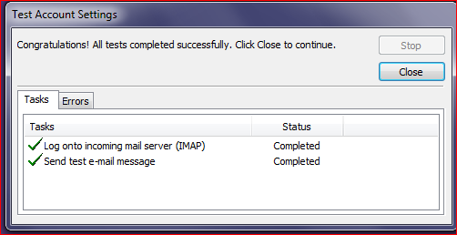 5. Click More Settings a. Outgoing Server Tab i. Check the box next to My outgoing server (SMTP) requires authentication. ii. Select Use same settings as my incoming mail server. b. Advanced Tab i.