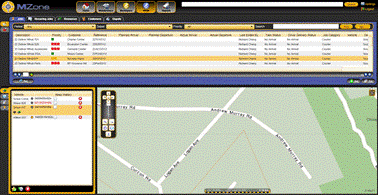 MZone application A browser based fleet & mobile resource management platform.