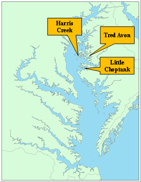 2014 Oyster Restoration Implementation Update Progress in the Choptank Complex (Harris Creek, Little Choptank River, and Tred Avon River) May 2015 The Chesapeake Bay Watershed Agreement, signed in