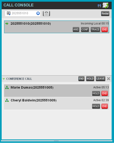 4 Manage Calls This section describes the operations you can perform to make and manage calls.