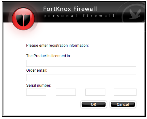 4. Working with FortKnox Personal Firewall After you have successfully installed FortKnox Personal Firewall on your computer, the FortKnox Personal Firewall icon will appear on your desktop.