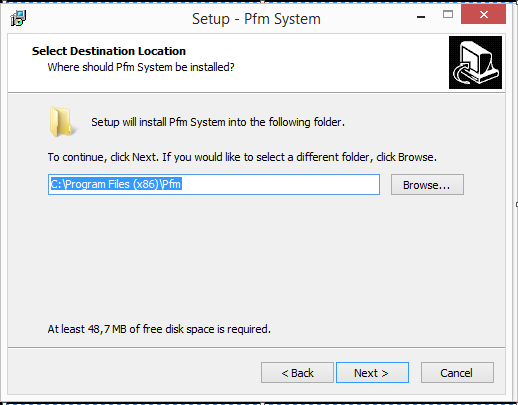 2. Installation Instructions Run the installation file in Run in Administrator Mode.