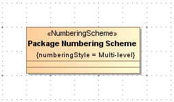 3. Creating a numbering scheme to define a numbering style and number parts To create a numbering scheme NOTE We will use a profile diagram to create the numbering scheme.