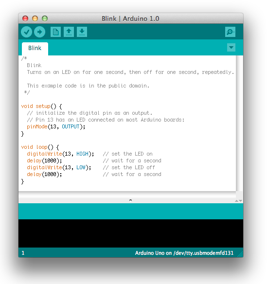 Arduino platform IDE Minimalist integrated development environment (IDE) Typically programmed with C Debugging Debugging is typically supported via simple communications over a serial line interface