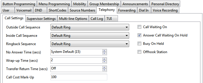 how to change extension name on avaya phone