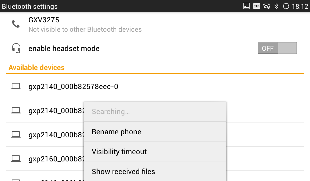 how to turn off bluetooth visibility